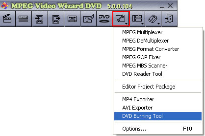 open dvd burning tool