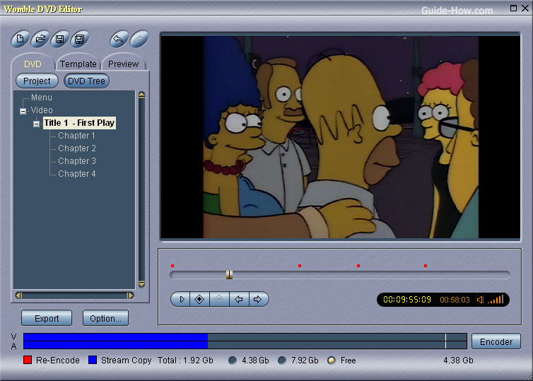womble-dvd-editor